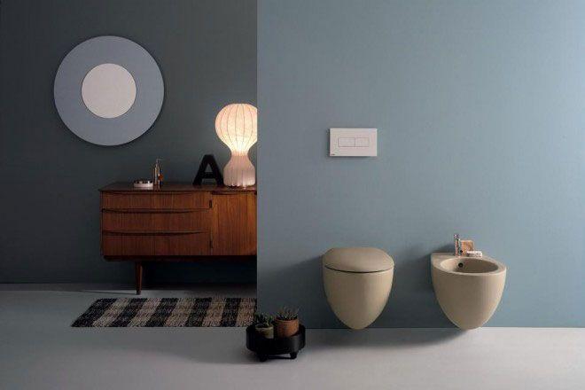 Un bagno color tortora firmato Ceramica Globo | sanitari | Bagni ...