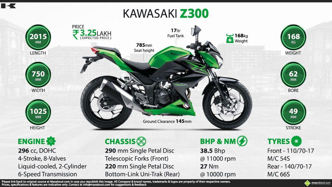 Kawasaki Z300 It S Showtime Maxabout Autos