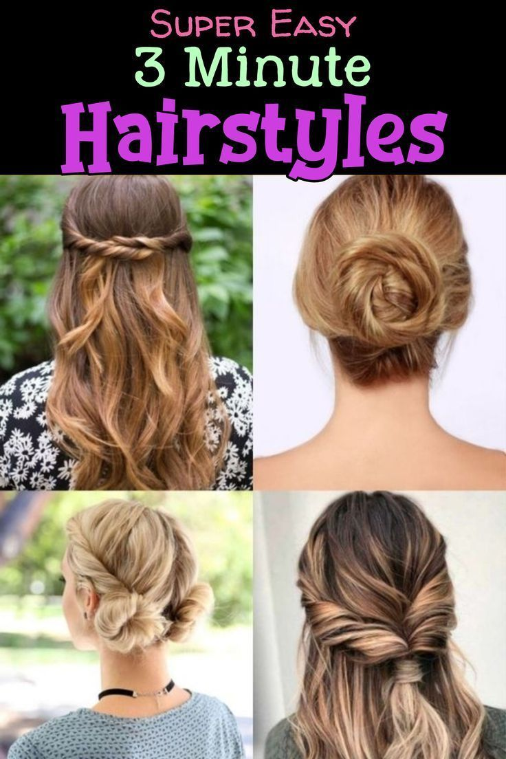 10 Easy Lazy Girl Hairstyle Ideas Step By Step Video Tutorials For Lazy Day Running Late Quick H In 2020 Lazy Girl Hairstyles Easy Everyday Hairstyles Lazy Hairstyles