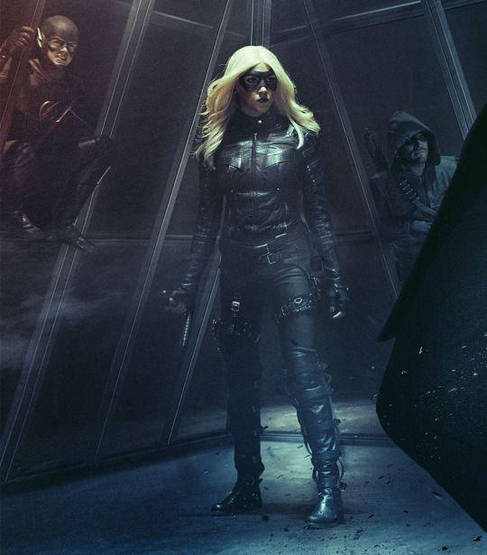Arrow, Flash, Balck Canary