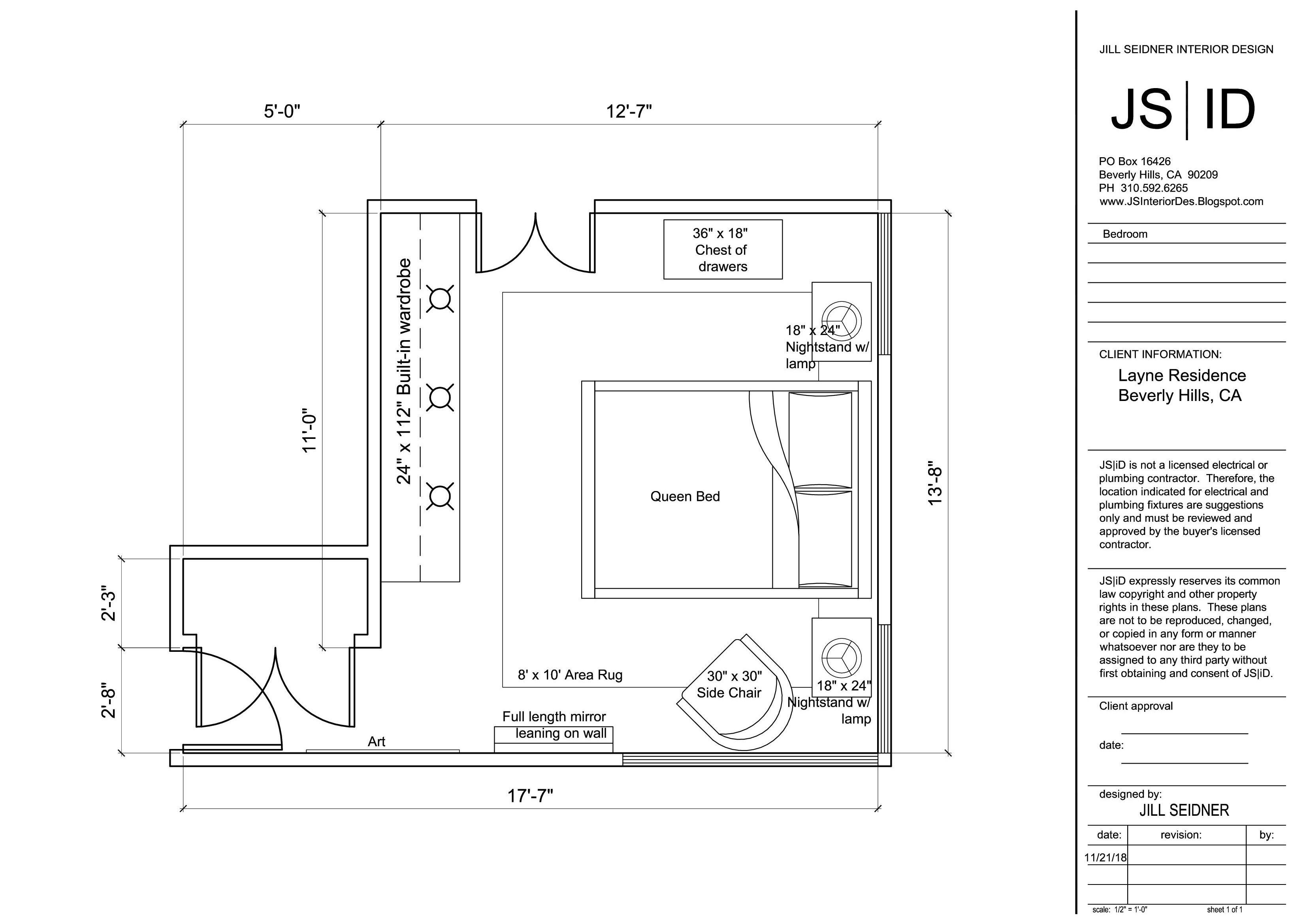Jill Seidner Interior Design Jill Seidner Interior Design Interior Design Drawings Online Design Services Floor Plan Layout