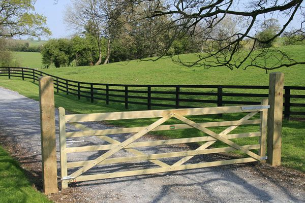 New Ideas Farm Gates With Wooden Farm Gates Plans Image