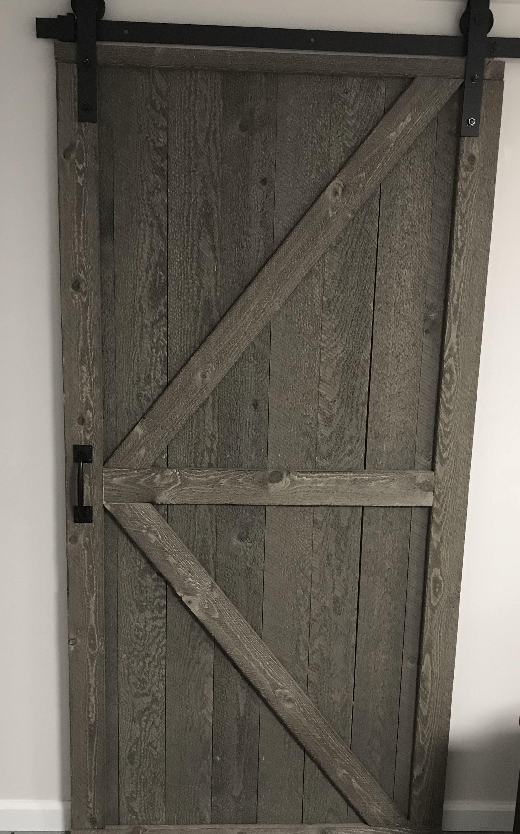 Our Other Barn Door This One Is A Bit Smaller Than The 5 Foot 2 Doors