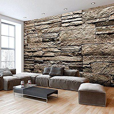 murando - Fototapete Steinoptik 400x280 cm - Vlies Tapete - Moderne ...