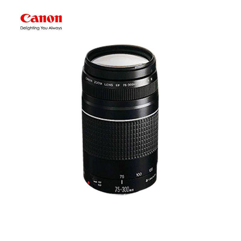 Canon Camera lens EF 75-300mm F/4-5 6 III Telephoto Lenses for Canon