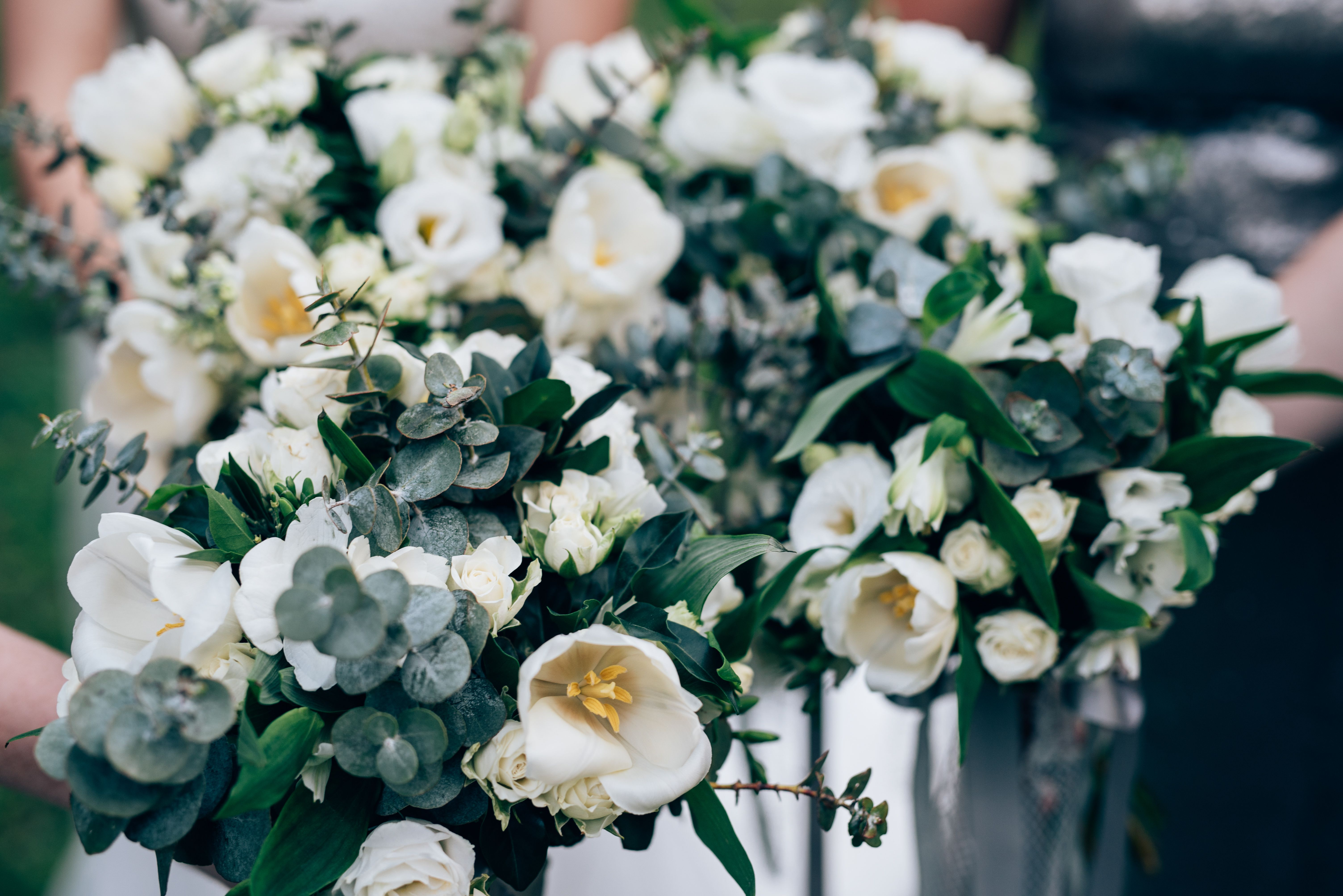 flowers from skeleton leaf florist weddingbouquet wedding