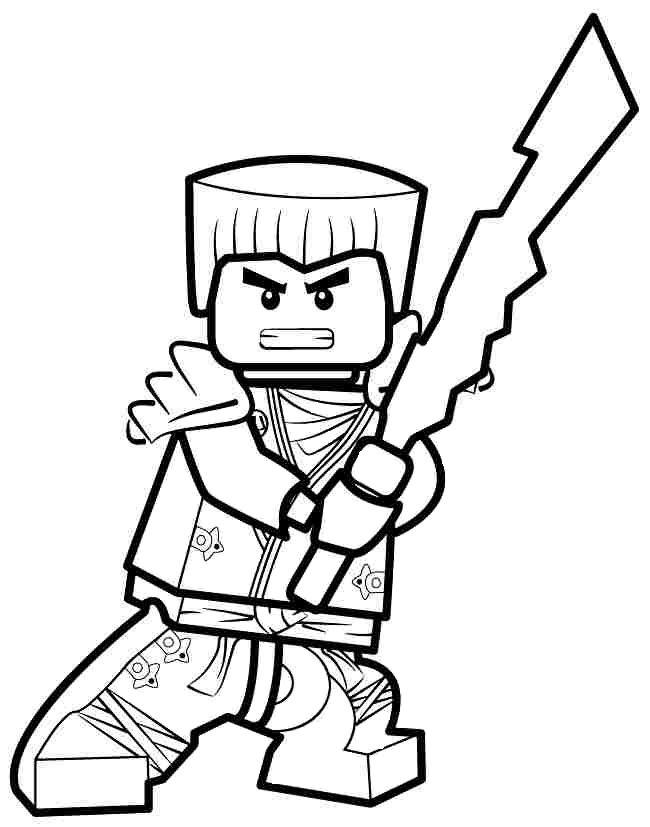 Coloriage et dessin de ninjago imprimer coloriage zane le ninja blanc coloring drawing - Coloriage manga livre ...
