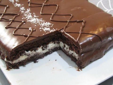 كيكة كيندر ديليس إسفنجية بالحجم العائلي بمكونات متوفرة في كل بيت Gateau Facon Kinder Delice Geant Youtube Food Cake Recipes