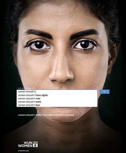What Women Cannot. Photo: Gute Werbung/UN Women Campaign by Memac Ogilvy & Mather Dubai
