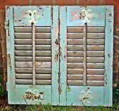 #Handpainted #Shutter #shutters repurposed Aluminum #shutter…