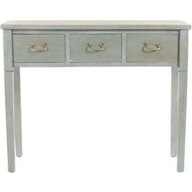 Groovy Safavieh American Home White Maple Rectangular Console And Uwap Interior Chair Design Uwaporg