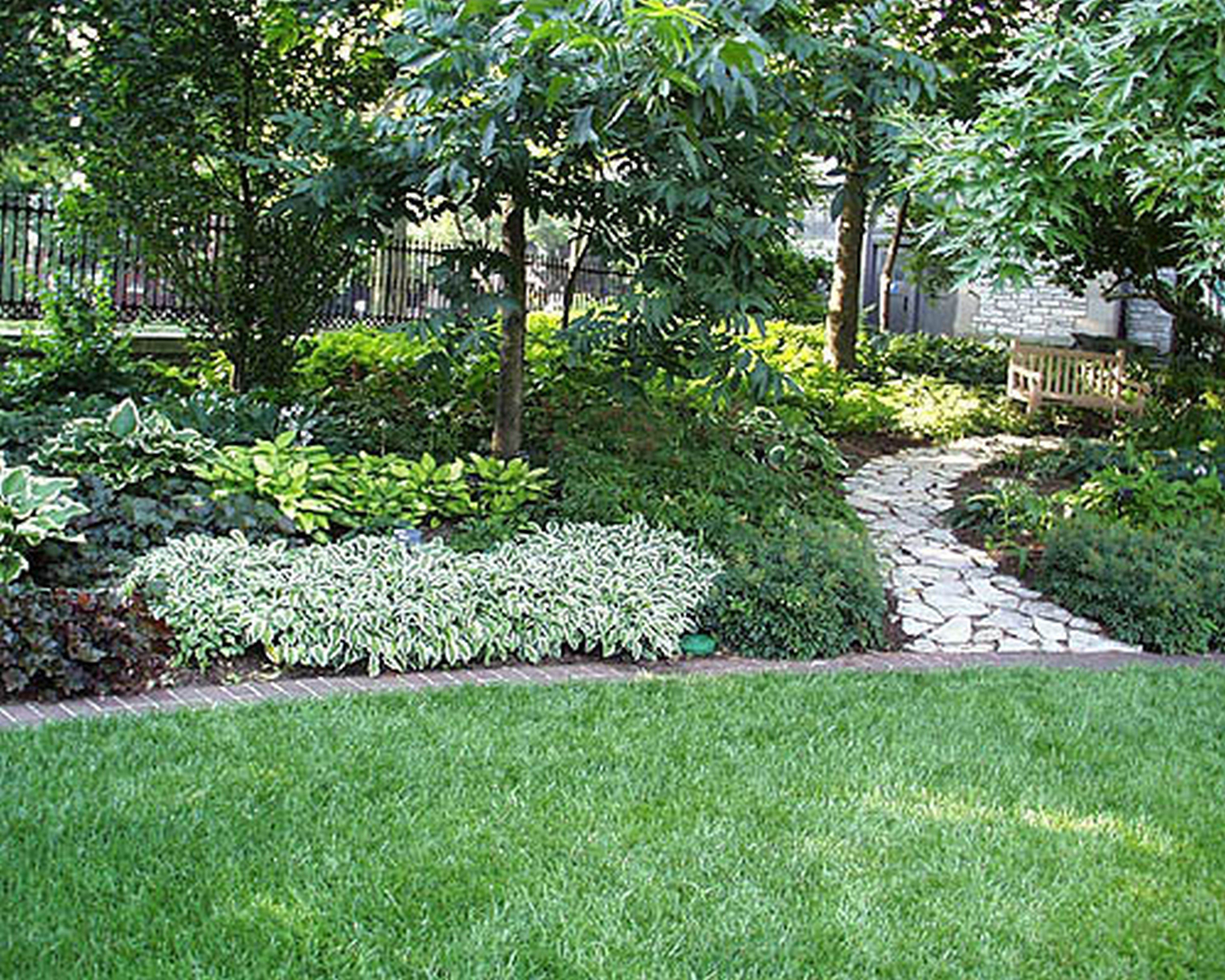 Shade Landscaping Ideas Exteriors  Outdoor And Landscaping Remarkable Patio Blue Pool