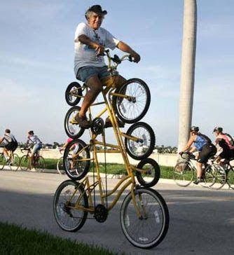 As Bicicletas Mais Estranhas Do Mundo Ciclismo Invencoes Engracadas