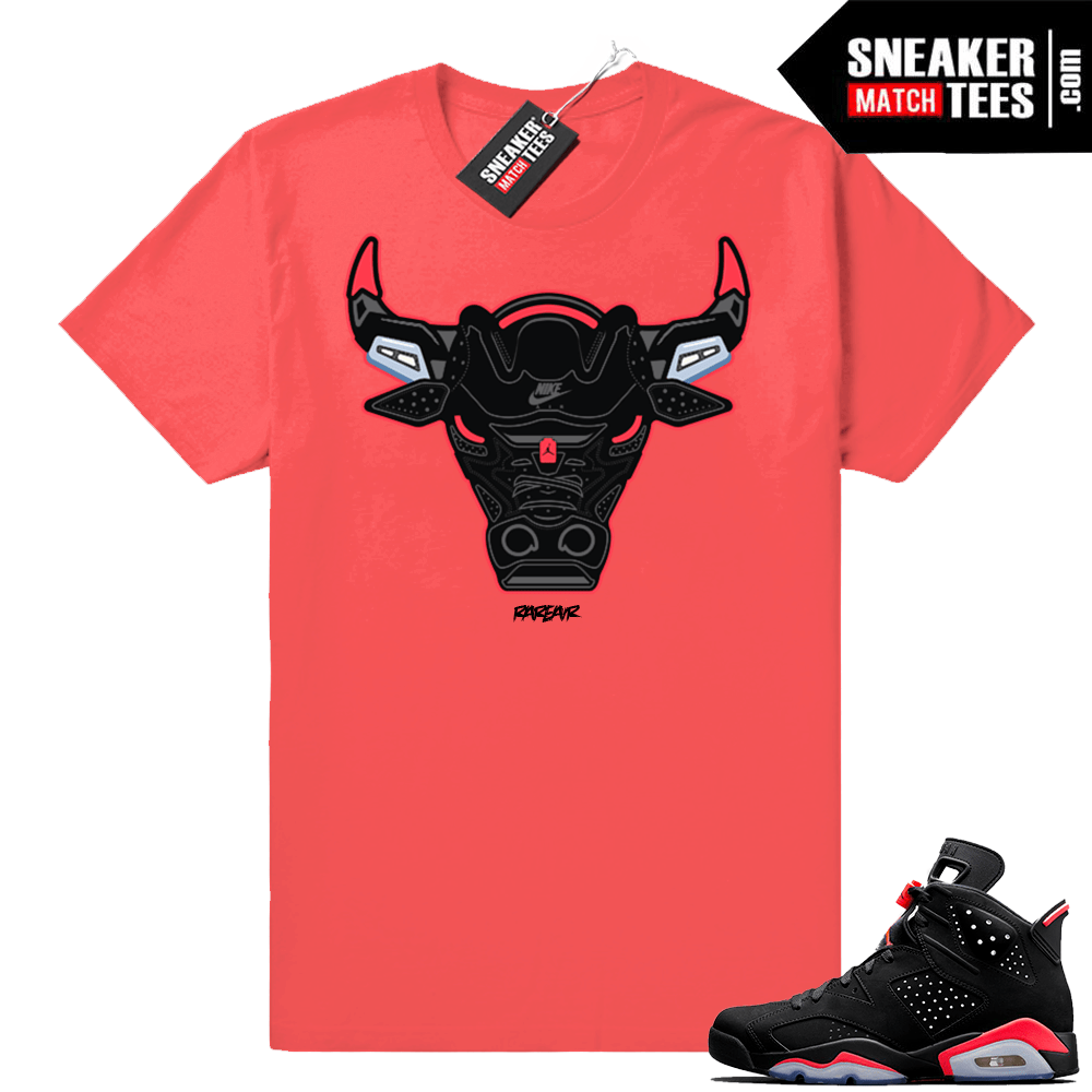 Infrared 6s Sneaker tees to match