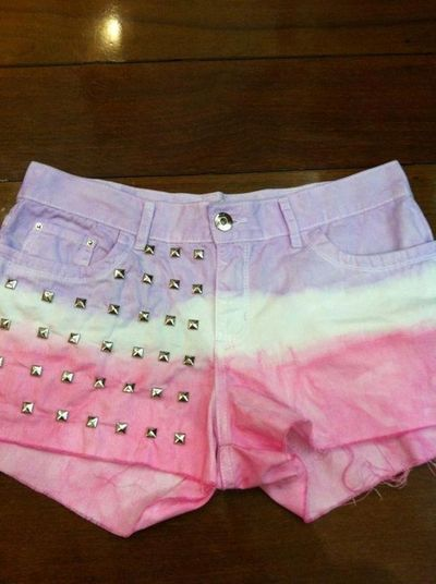 My Little Pony Colored, Studded Shorts.