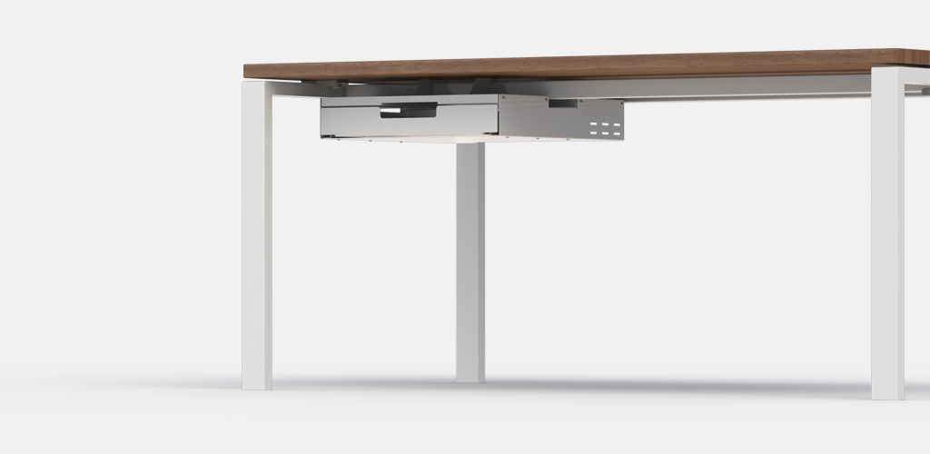 Beam Mounted And Hard Fixed Laptop Drawers For Under Desk Desk Furniture Home Decor