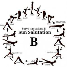 sun salutation b  this was so much harder to edit than my