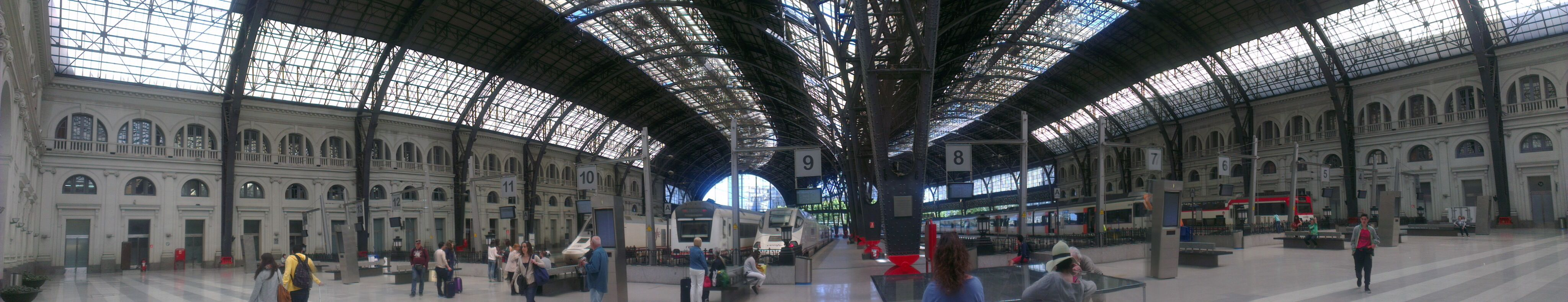 Such a beautufull station, spain, barcelona