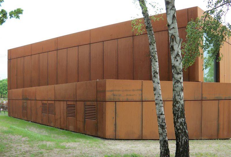 Detail Fassade Cortenstahl Google Suche Universitas P3