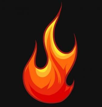 how to draw real flames in illustrator