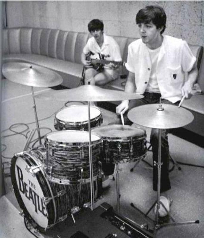 Paul Mccartney On The Drums Ringo Starr On Bass My Boys