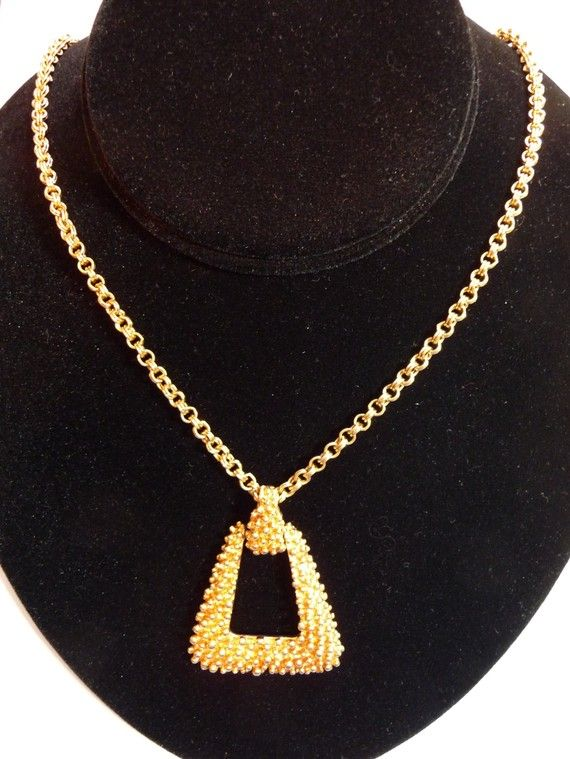 Vintage Sarah Coventry Pendant Necklace on Etsy