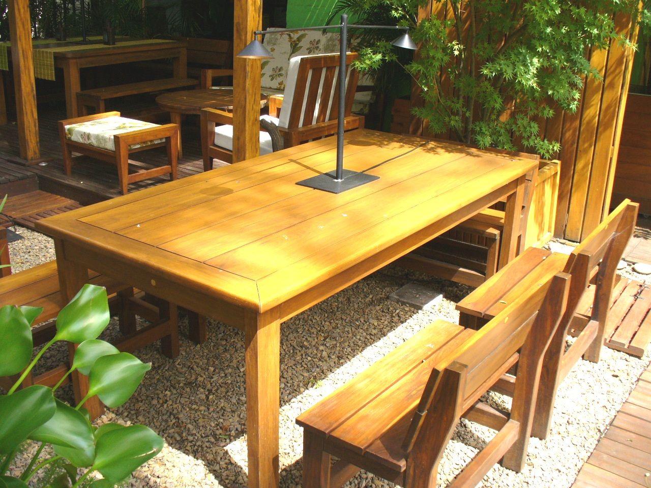 Mesa coleman nuestro cl sico y siempre vigente dise o for Mesas de madera para exterior