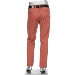 Photo of Alberto herre Chino Lou bukser, almindelig Slim Fit, bomuld, korallerød Albertoalberto