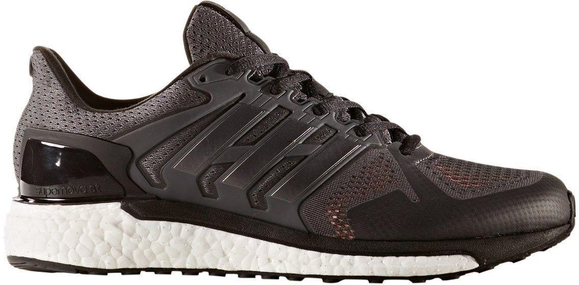 adidas Supernova ST Men s Running Shoe Grey, Black, Solar
