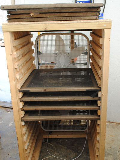 Screen Storage Racks : Seed drying racks like the ones we built in ecuador