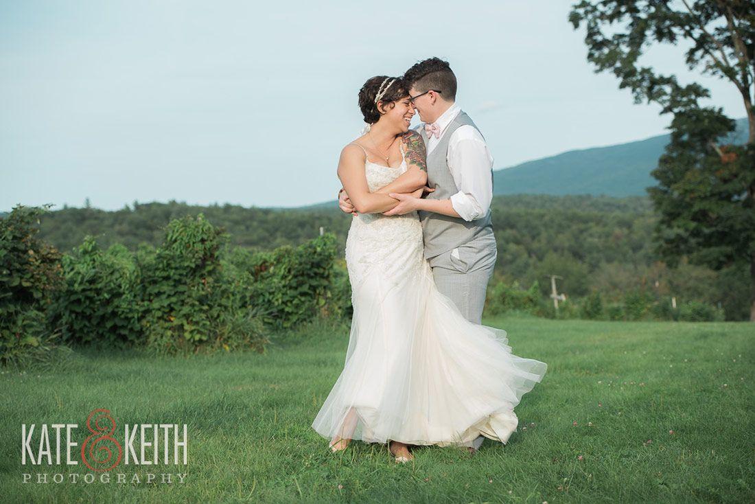 Bride Posing | Monadnock Berry Farm | Troy, NH