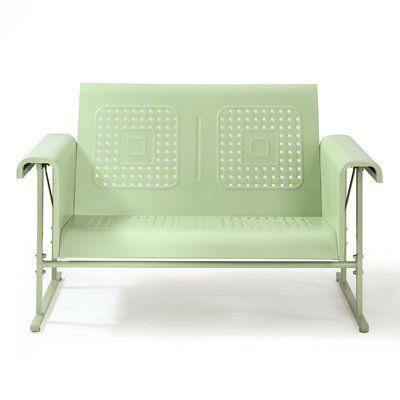 Crosley Furniture Co1004a Veranda Loveseat Glider Outdoor Glider Crosley Furniture Love Seat
