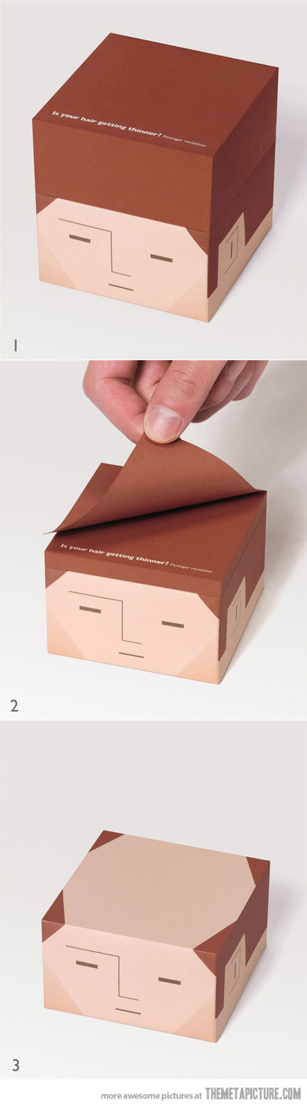 Balding post-it notes... I want these to give as stocking stuffers for Christmas!