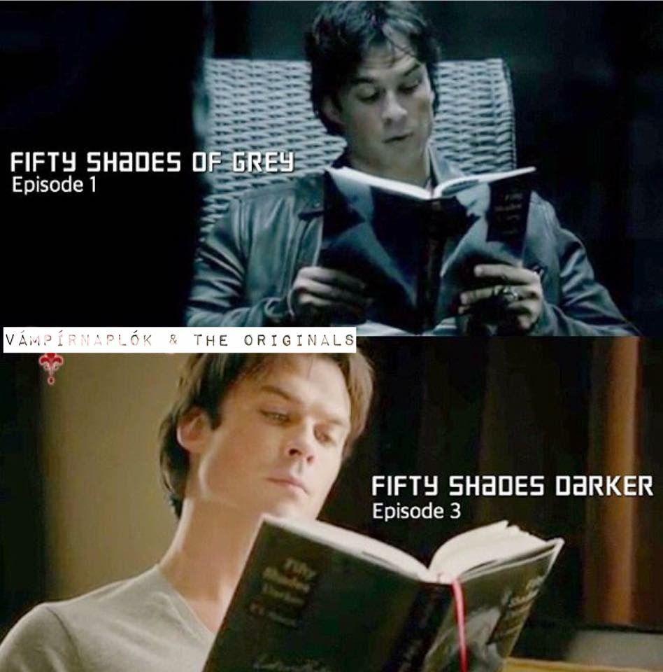 Celebrity reading 50 shades of grey