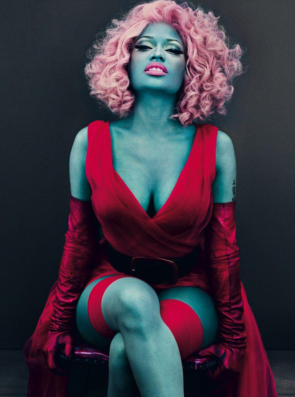 Nicki Minaj March Issue of Vogue