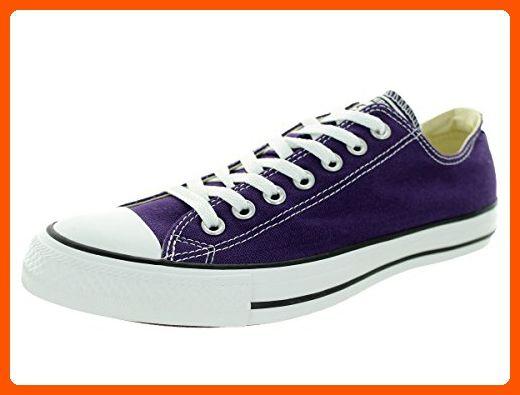 e8e68c396ec Converse Unisex Chuck Taylor All Star Ox Low Top Classic Eggplant Peel  Sneakers - 7 B