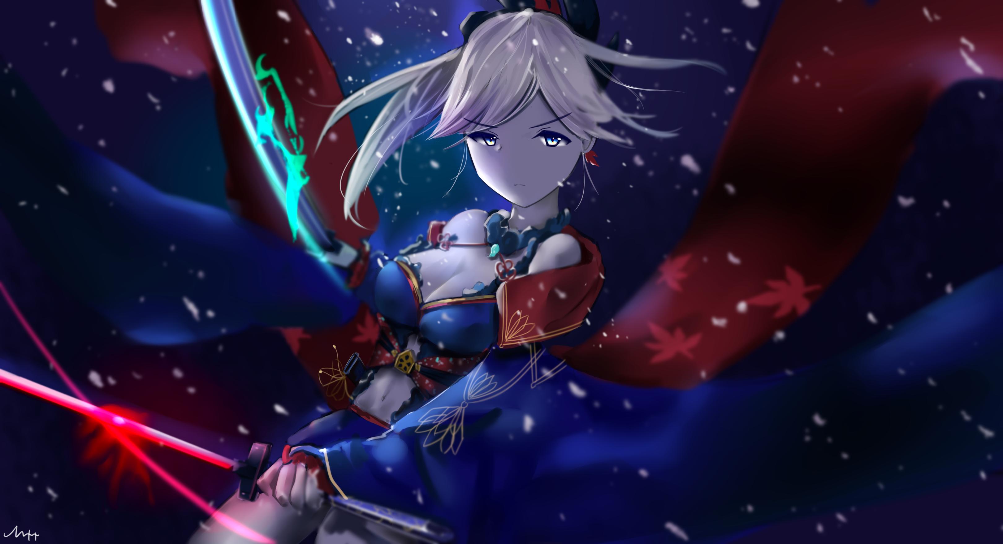 Miyamoto Musashi Fate Grand Order Miyamoto Musashi Musashi Anime