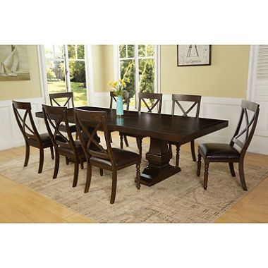 Owen 9Piece Dining Set  Home Decor  Pinterest  Dining And Fascinating 9 Pc Dining Room Sets Design Ideas