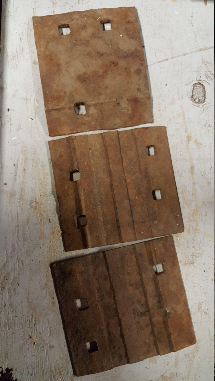 Vintage Railroad Tie Plates Train Track Steel Plates By Sweetwaterfarmstrade On Etsy Railroad Ties Steel Plate Vintage