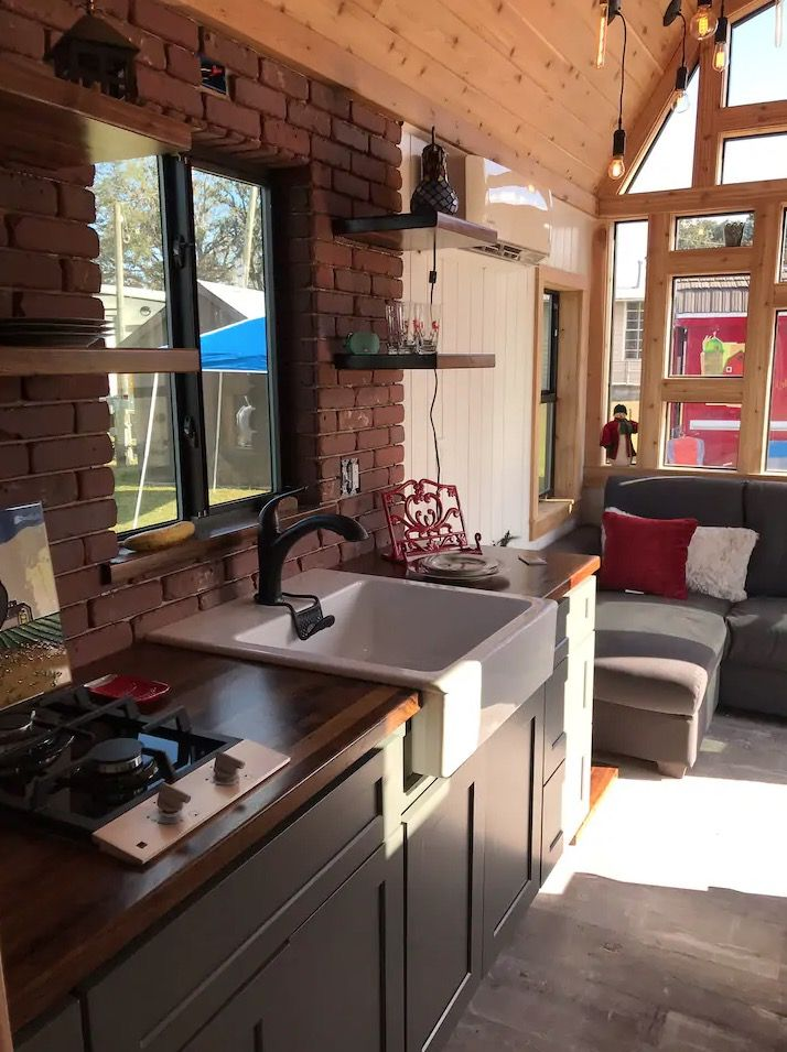 Barn Model Tiny House in Melbourne in 2020 Tiny house