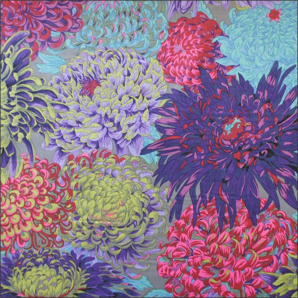 Rowan Fabrics Fall Japanese Chrysanthemum Cotton Fabric