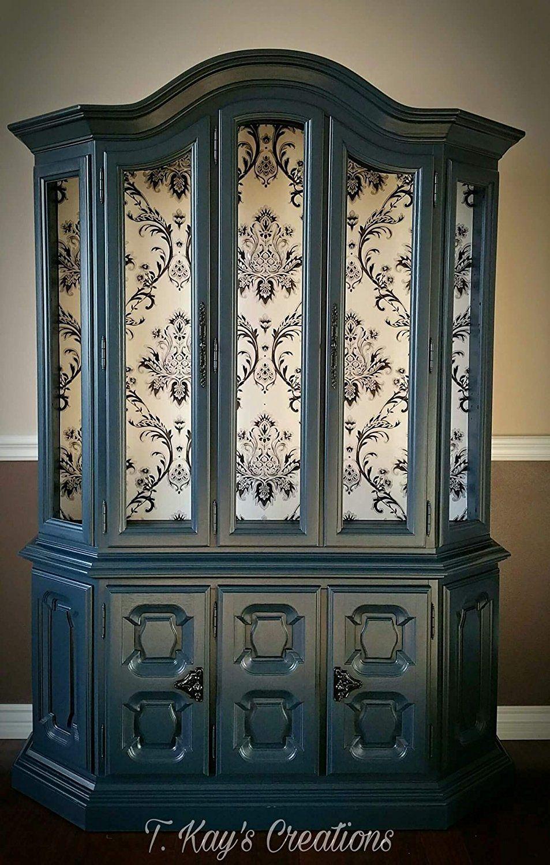 blue Chalk Finish Paint - Furniture & Cabinet Paint (32 oz ...