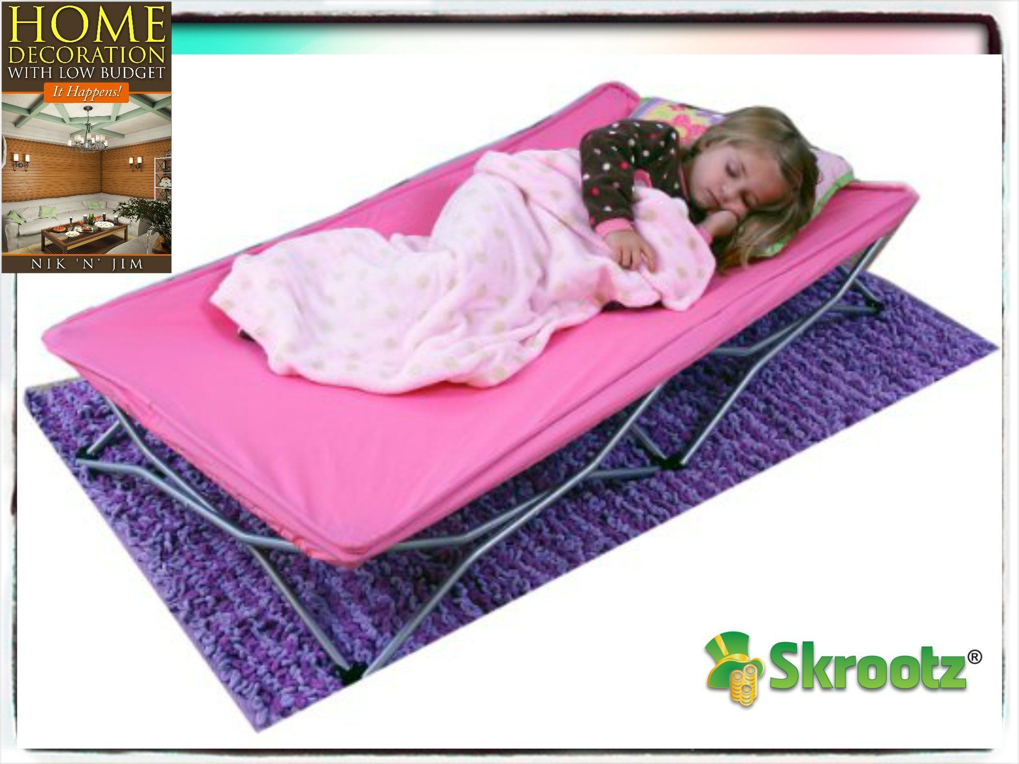 Portable Toddler Bed Cot Travel Kids Camping Folding New Baby