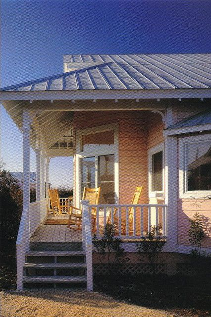 Dreamsicle Cottage, Seaside, Florida postcard - available