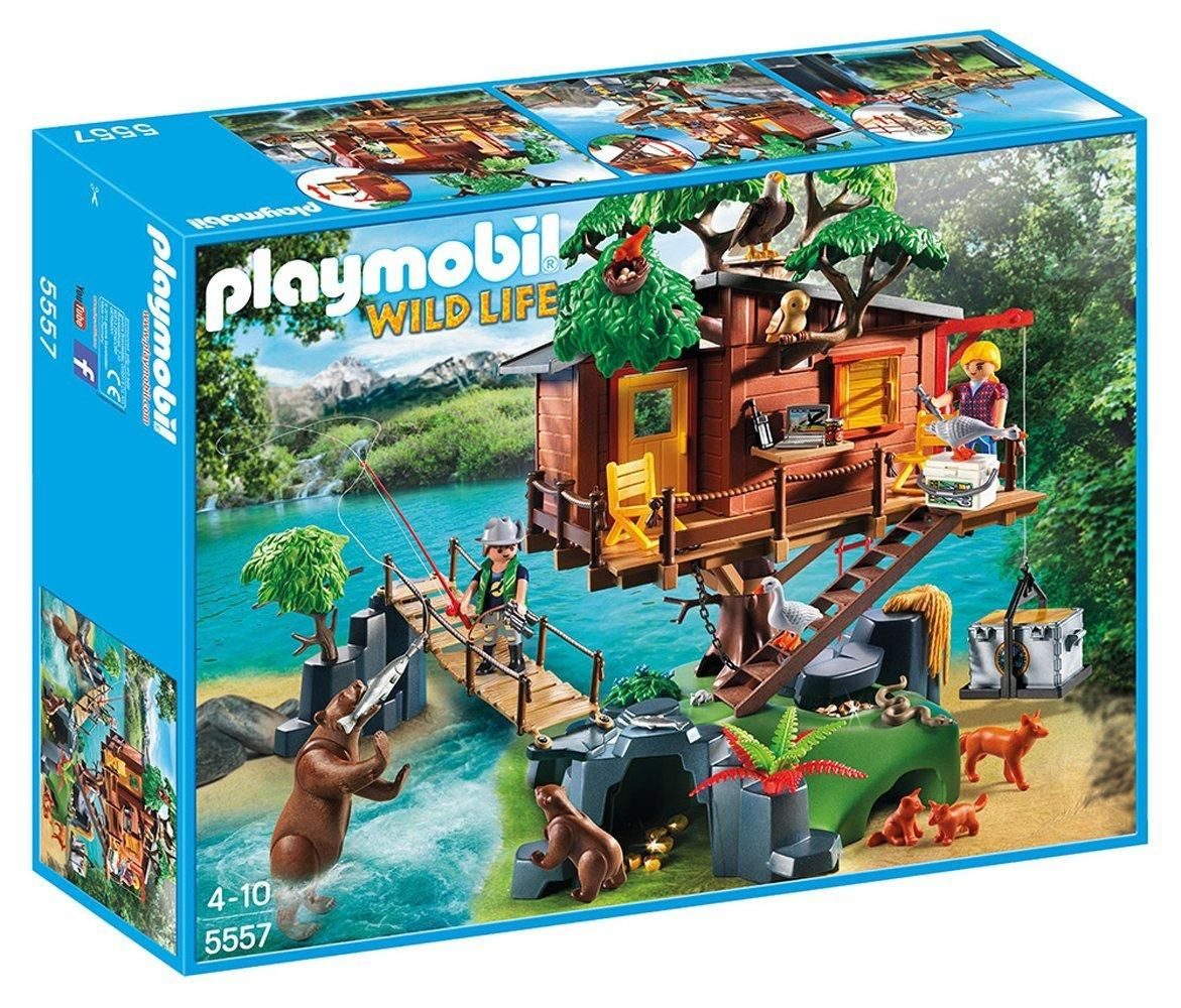 Playmobil Adventure Tree House Age 4-10 Kid Toy Gift