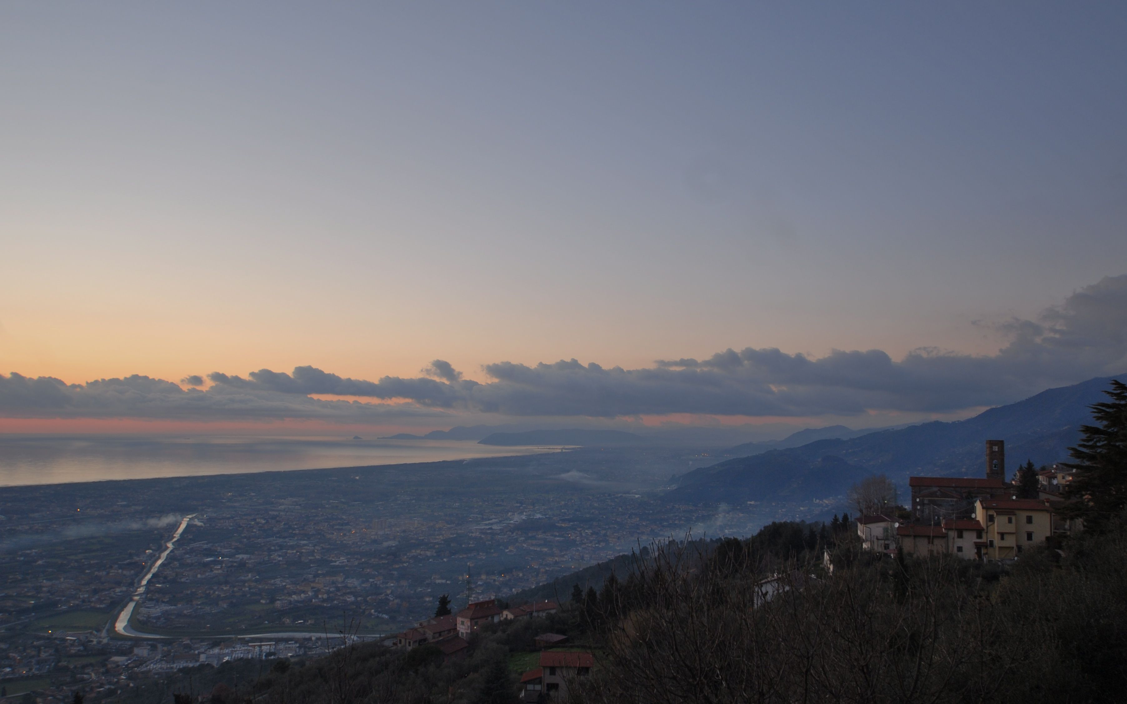 Sunset in Versilia
