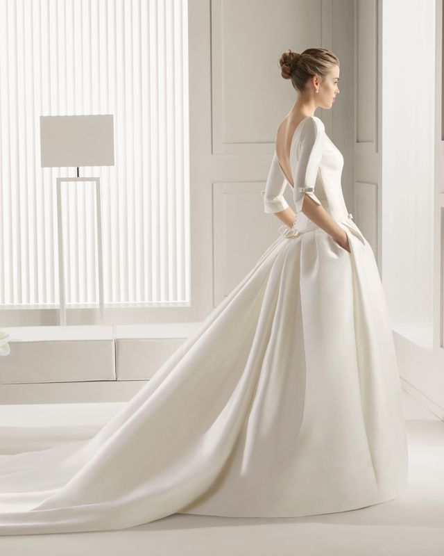 Robe De Mariée Rosa Clará 2015 Chez Printemps Mariage