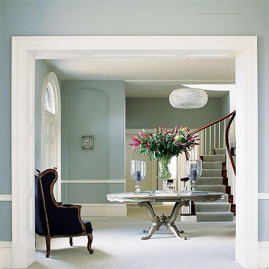 Farrow And Ball Paint Chart | Reception Hallway | Georgian Design |  Decorating Ideas | Housetohome
