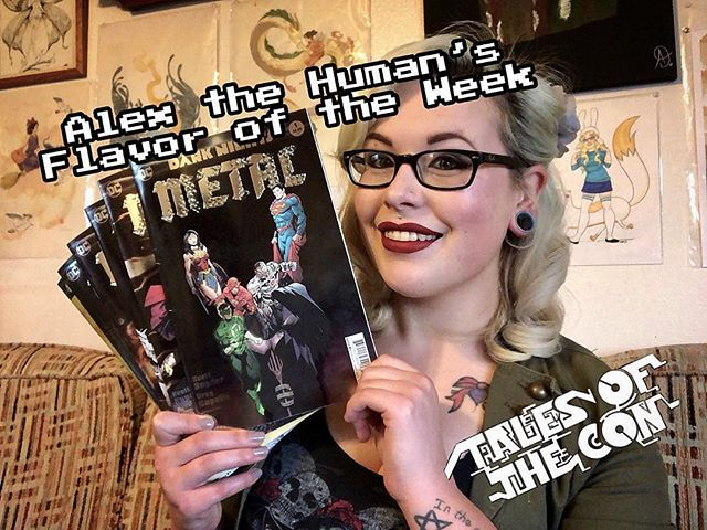Late night video guess whose back to weekly videos! Alex the Humans newest  Flavor of the Week is up on our YouTube! This weeks flavor is Dark Night…