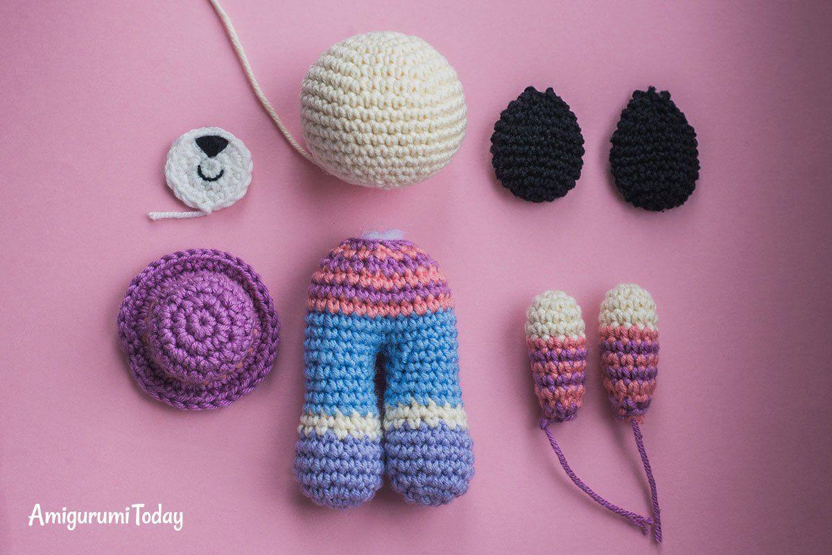 Charlie the Dog crochet pattern
